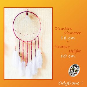 Attrape Rêves Dreamcatcher Mobile Bohémien Boho Ethnique