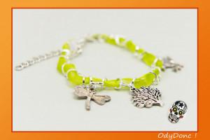 Bracelet Tendance Minimaliste Breloques Thème Nature Arbre de Vie