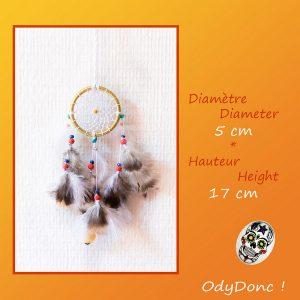 Attrape rêves Rétroviseur Voiture Dreamcatcher Boho Chic Ethnique