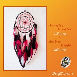 Attrape Rêves Dreamcatcher Rock Ethnique Mobile Amérindien Suspension Murale